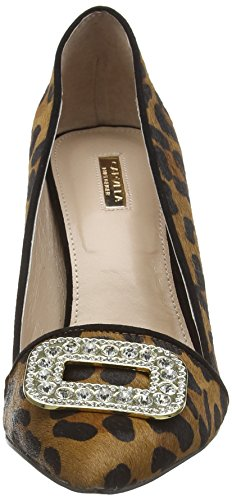 Carvela Trim Detail - Zapatos Mujer Multicolor - Multicolor (Beige Comb)