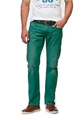 Hombre bolsillos EN Turquesa 5 Pantalones Vaqueros RHODE TURQUESA ISLAND de twB5qf5