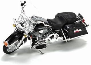 Modelo de motocicleta 1:18 Harley Davidson 1999 flhr Road King negro de maisto