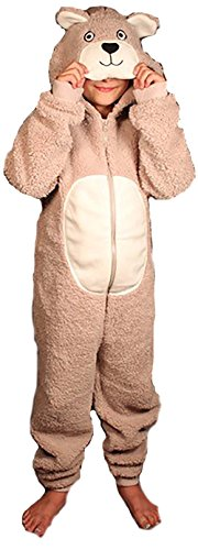 Cute Bear Jumpsuit Costumes (6036-24M-Bear-New Just Love Jumpsuit for Kids / Pajamas)