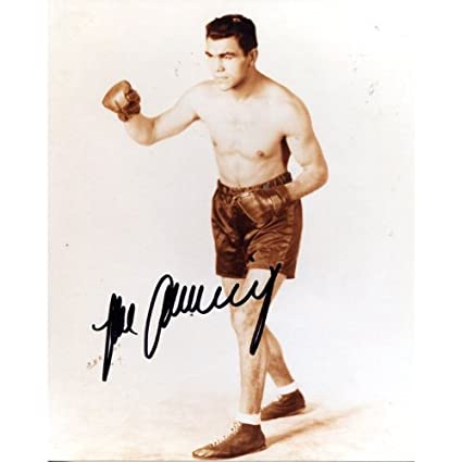 1cb7177f2bd Max Schmelling Autographed 8x10 Photo at Amazon s Sports Collectibles Store