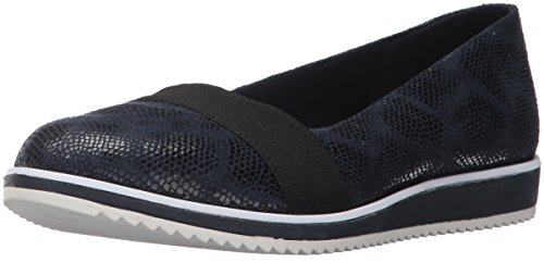 Anne Klein Donna Michelle Tessuto Mocassino Flat Navy Multi