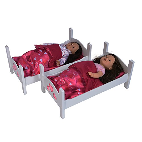 Bunk Bed For Twin Dolls Fits 18 Inch Dolls Import It All