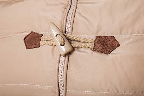 L'hiver Double Chaude Pour Imperméable New Haute Coton Hooded Manteau Deepkhaki xl Veste De Men's À L'eau Qualité En Hiver silvergrey Adong qgvtTT