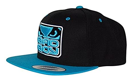 Image Unavailable. Image not available for. Color  Bad Boy MMA Black Blue Snapback  Cap d750a26288d0