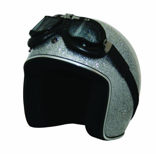 Glitter Motorcycle Helmet - 3