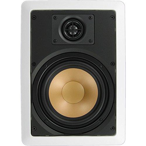 Inwalltech M65.1W - 6 1/2'' Aluminum Flush Mounted In Wall Speakers by Inwalltech