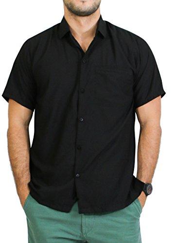 Leela Hawaiian Shirt Front Pocket Plain product image