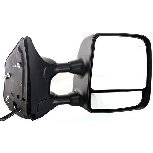Kool Vue Power Towing Mirror For 2004-2015 Nissan Titan RH Heated W/Memory ()