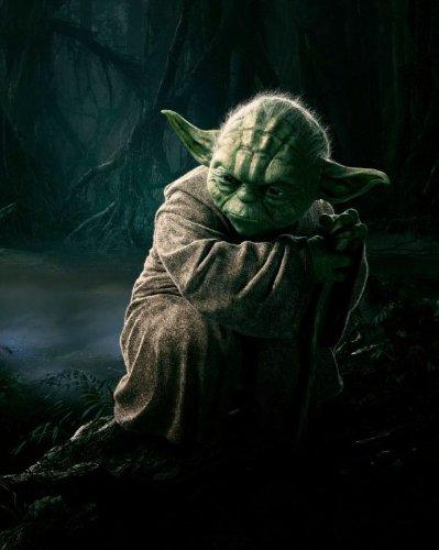 8x10 Poster Print GLOSSY Return of the Jedi Yoda