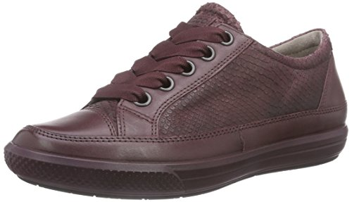 Sneaker À bordeaux Lacets Dress Ecco Derbies Rot Femme bordeaux Rouge q4w6Z5Zx