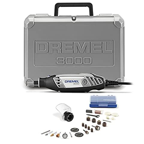 Dremel 3000-1/25 120-volt Variable Speed Rotary Tool Kit with 1 Attachment and 25 Accessories (Impact Wrench Attachment)