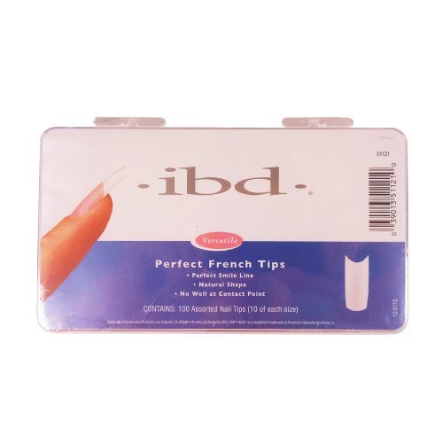 Ibd Perfect French Tips (IBD Perfect French Tips, 100 Count by IBD)