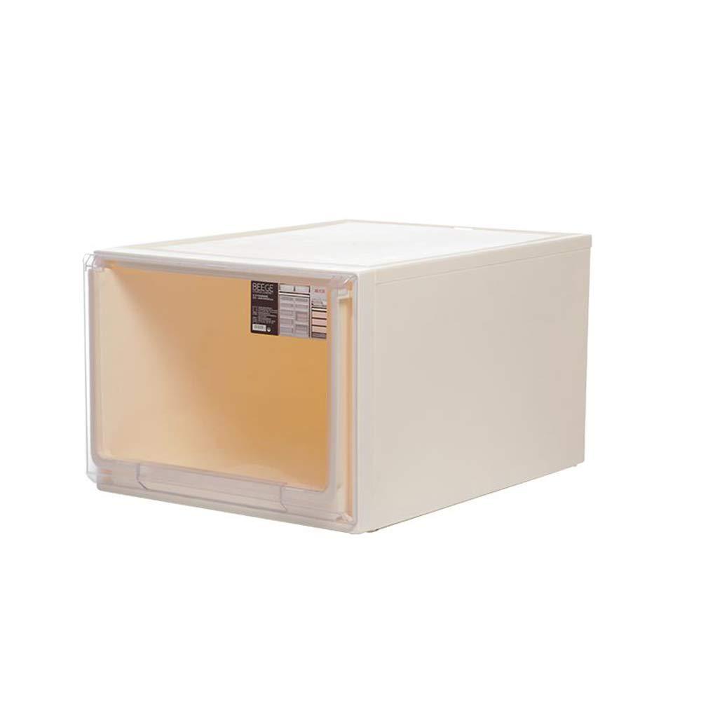 Amazon.com: Caja de almacenamiento de plástico con acabado ...