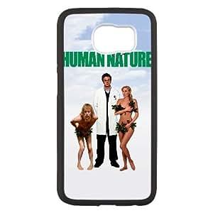 Alta resolución V2G52 Humano cartel de la naturaleza C2E8RU funda Samsung Galaxy S6 funda caja del teléfono celular cubren IH3PQS7JQ negro