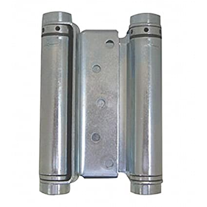 Bommer 3000 Series Steel Mortise Type Double Acting Spring Hinge 6 Hinge Size Satin Nickel Finish 6 Hinge Size Bommer Industries 30296646