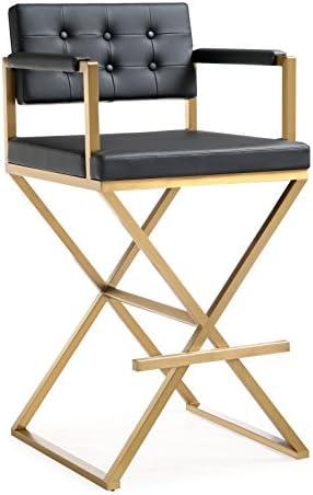 TOV Furniture Director Steel Barstool