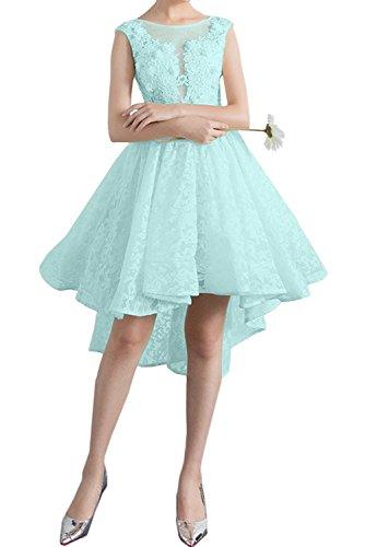 Sage Kurz Damen Sweetheart Partykleider Ivydressing Promkleid Spitzenkleid Rundkragen Abendkleider 8ZXCxq