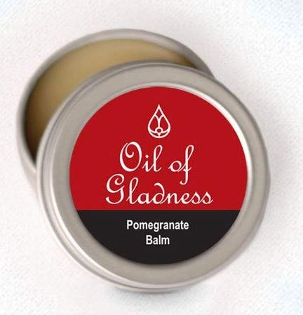 Anointing Oil - Solid Balm in tin - Pomegranate