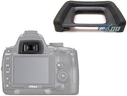 EKOO Eye Cup para Nikon cámara réflex digital D5000 D5100 D3000 ...