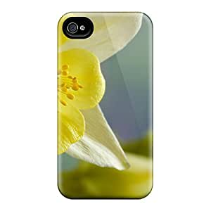 Loveholiday DWi1443ajOH Case Cover Iphone 4/4s Protective Case Yellow Narcisa
