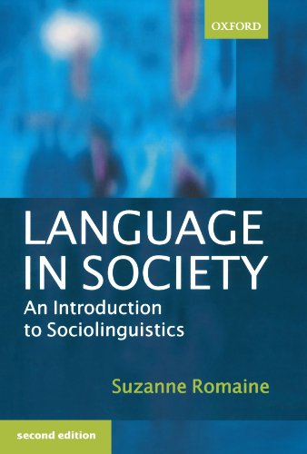 Language in Society: An Introduction to Sociolinguistics by Oxford University Press