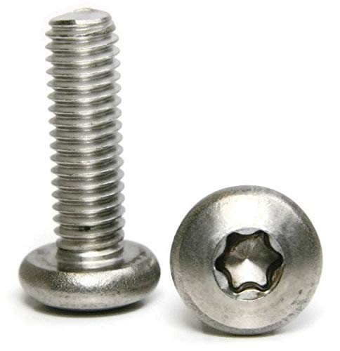Stainless Steel Torx Pan Head Machine Screw 1/4-20 x 1'' Packing Quantity - 100 - Quality Assurance from JumpingBolt