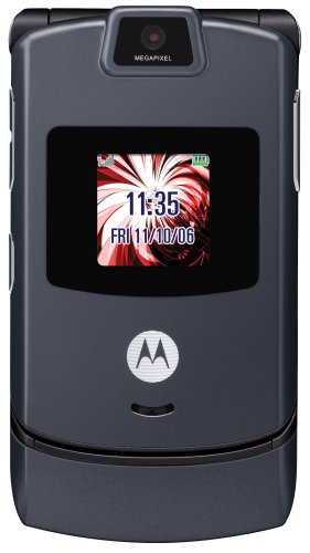 Motorola RAZR V3 Pearl Gray Phone (T-mobile Myfaves Cell Phone)