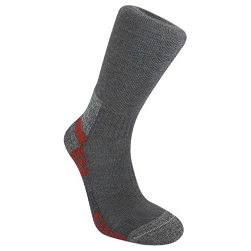 Bridgedale Men's WoolFusion Trail Socks, Gunmetal, Medium