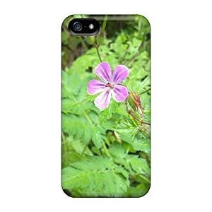 LastMemory Iphone 5/5s Hybrid Tpu Case Cover Silicon Bumper Arasbaran Forest Flowers In Iran Tabriz