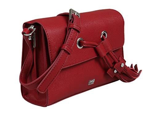 Roberto Cavalli HXLPGP 060 Red Shoulder Bag for Womens
