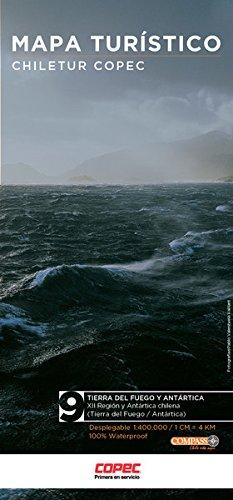 Mapa Chiletur Copec Zona 9 Tierra Del Fuego Y Antartica Juan