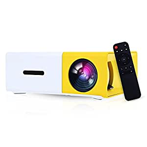 Portable micro mini projector gbtiger yg 300 lcd for Micro portable projector