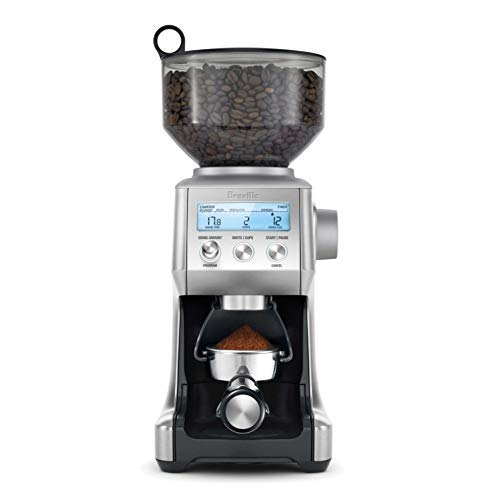Breville the Smart Grinder Pro Espresso Coffee Grinder w/Dosing IQ Technology & 60 Grind Settings - BCG820BSSXL