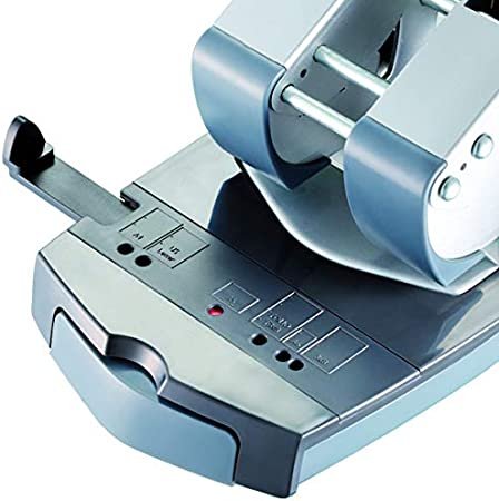 Maped Registraturlocher Punch Easy schwarz 40 Blatt Metall 80 mm weniger Kraft