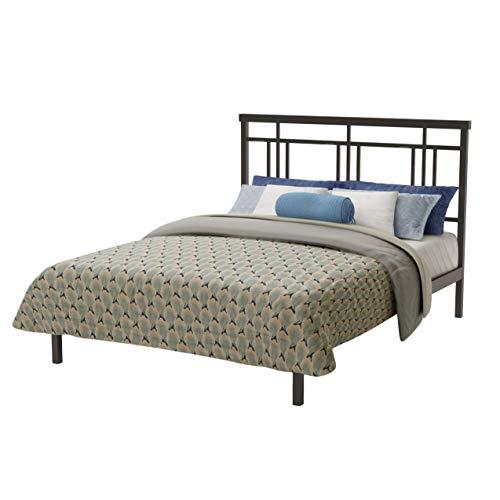 - Amisco Cottage Metal Platform Bed, Queen Size 60
