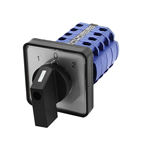 73 660V 20A 3 Position Panel Mounting Select Rotary Cam Changeover Switch ()