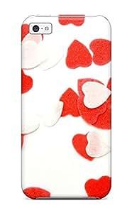 Andrew Cardin's Shop New Arrival Premium Iphone 5c Case(plenty Of Love Hearts)