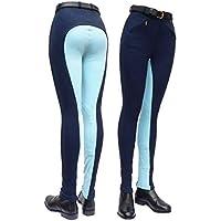 Gallop Two Tone Pantalones de equitación, Mujer