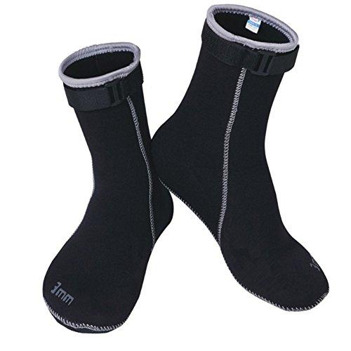 3MM Neoprene Scuba diving socks High elastic Snorkeling Boots Non-slip Keep warm Shoes Seaside Wetsuit Wet suits Men swim by - Wetsuit Cut High