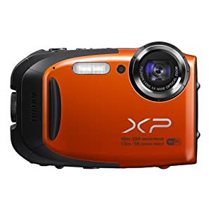 Fujifilm XP70 16 MP Digital Camera with 2.7-Inch LCD (Orange)