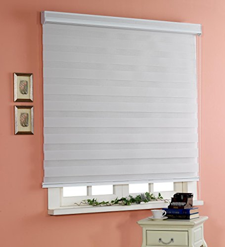 custom cut to size winsharp basic grey w 27 x h 64 inch horizontal window shade blind. Black Bedroom Furniture Sets. Home Design Ideas
