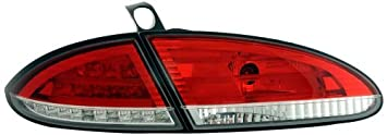 FK Automotive FKRLXLSE010009 Montaje de Luces Traseras LED, Rojo/Transparente
