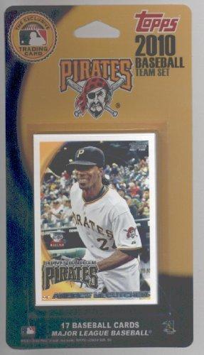 2009 & 2010 Topps Pittsburgh Pirates Baseball Cards Team Set Lot - Over 40 Cards!! Lot Includes Andrew McCutchen, Ryan Doumit, Gerrett jones, Neil Walker, Bobby Crosby, Zach Duke & more!