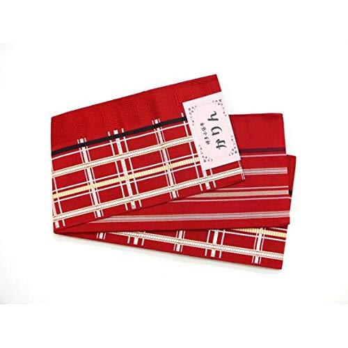 ジーンズフレキシブル羽【未使用品】半幅帯 博多小袋帯(2700030092713) 中古