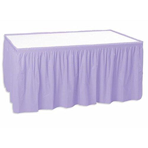 Table Skirt Lavender
