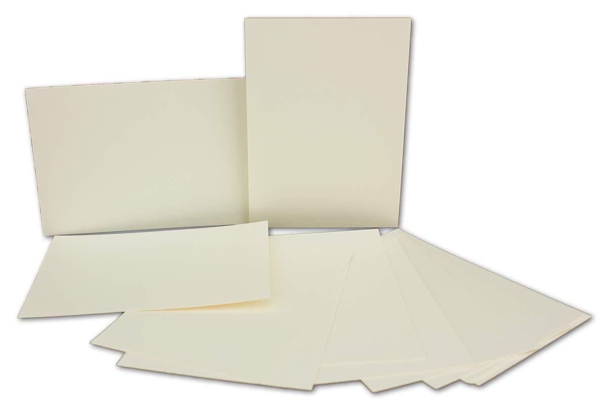 200x Stück Karte-Umschlag-Set Karte-Umschlag-Set Karte-Umschlag-Set Einzel-Karten Din A7 10,5x7,3 cm 240 g m² Dunkelgrün mit Brief-Umschlägen C7 Nassklebung ideale Geschenkanhänger B07MJ9QXKL | Mangelware  a5d60e
