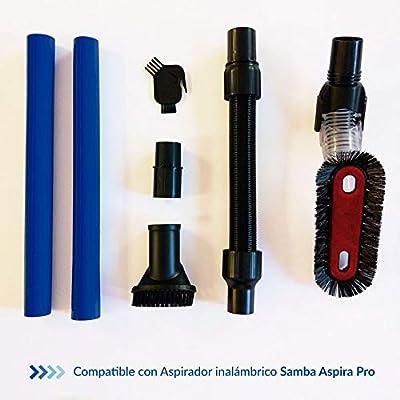 SAMBA Kit Accesorios Aspirador Inalámbrico para Aspiradoras Escoba ...