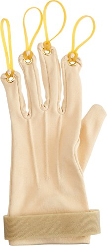 Sammons Preston Traction Exercise Glove, Hand and Finger Strengthening Glove for Joint Flexion, Hand Exerciser for Therapy, Recovery, and Rehabilitation, Left, Small/Medium by Sammons Preston