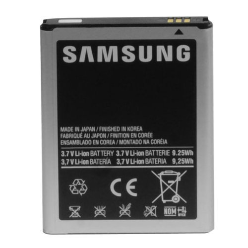 OEM Samsung Standard Battery for Samsung Galaxy Note (AT&T) i717 EB615268VA - Non-Retail Packaging - Silver by UnAssigned